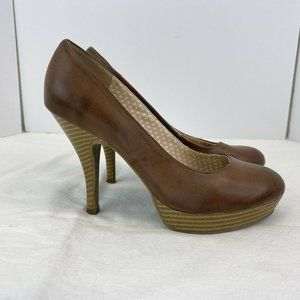 Kenneth Cole UNLISTED Chocolate Brown High-Heel Pl
